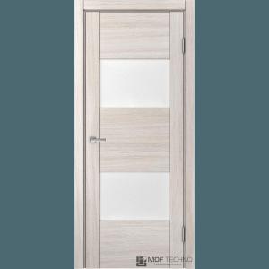 Доминика 221. Цвет: лиственница белая, стекло: лакомат/лакобель белый
