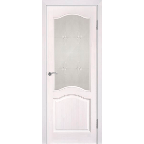 Модель №7 ДО (с рамкой). Цвет: Белый лоск