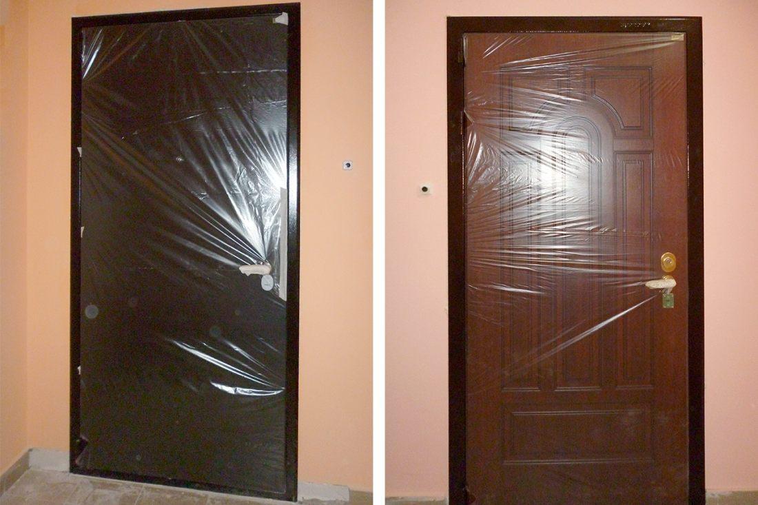 На каком этапе ремонта менять входную дверь